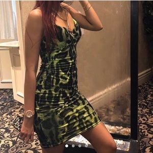 Neon Midi Dress
